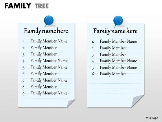 Sales Diagram Family Tree Strategy Diagram