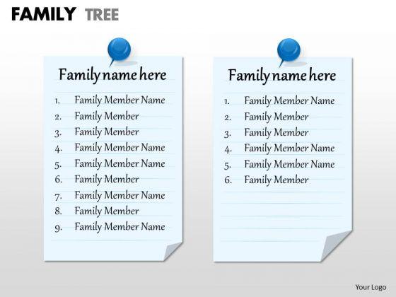 Sales Diagram Family Tree Strategy Diagram