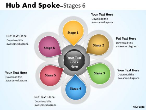 Sales Diagram Hub And Spoke Stages 11 Consulting Diagram