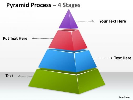 Sales Diagram Independent Pyramid Design For Business Consulting Diagram