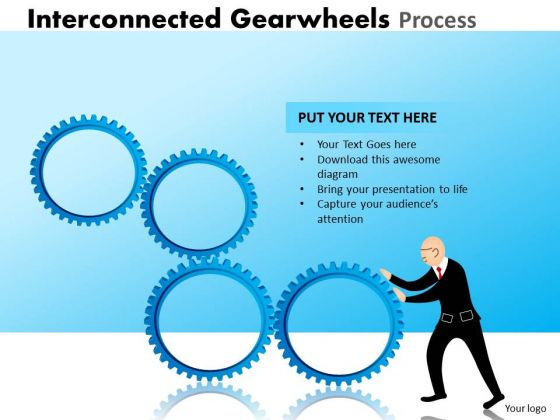 Sales Diagram Interconnected Gearwheels Process Mba Models And Frameworks