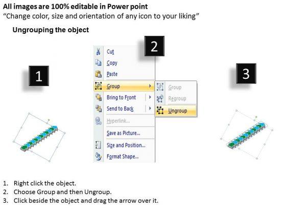 sales_diagram_linear_flow_12_stages_business_diagram_2