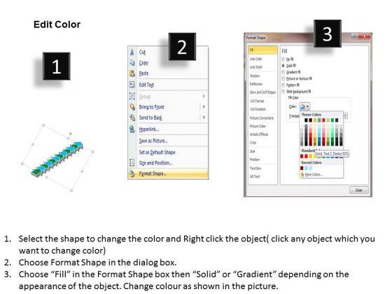 sales_diagram_linear_flow_12_stages_business_diagram_3