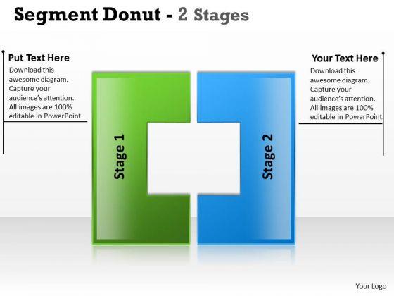 Sales Diagram Segment Donut Stages Consulting Diagram