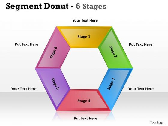 Sales Diagram Segment Donut Stages Templates Strategy Diagram