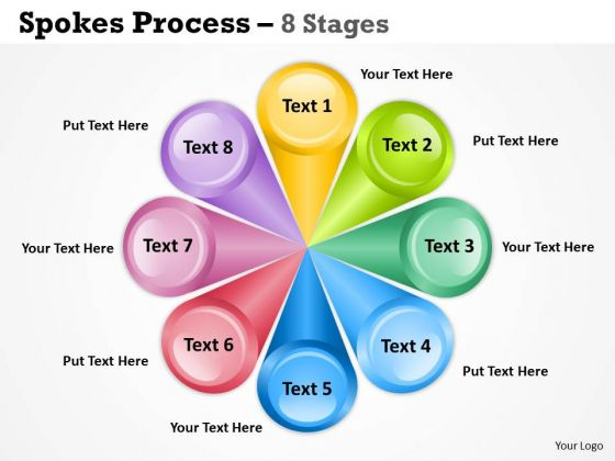 Sales Diagram Spoke Process 8 Stages Consulting Diagram