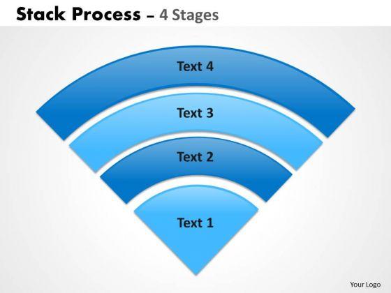 Sales Diagram Stack Triangle Shapes Process Strategic Management