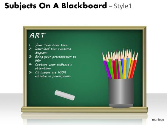 Sales Diagram Subjects On A Blackboard Strategic Management