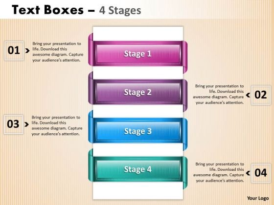 Sales Diagram Text Boxes Process Marketing Diagram