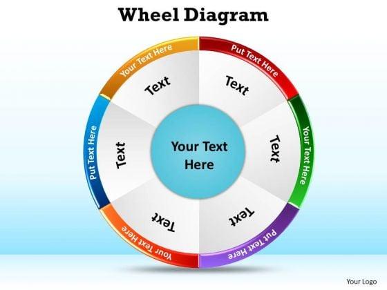 Sales Diagram Wheel Diagram Marketing Diagram