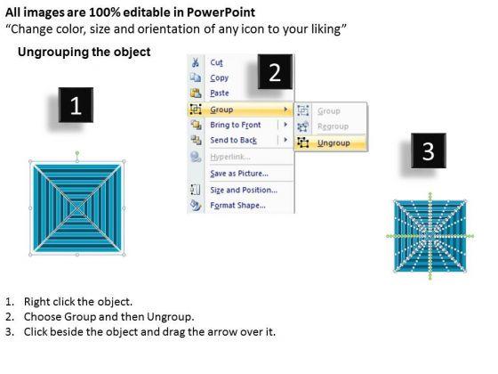 strategic_management_11_staged_square_concentric_sales_diagram_2