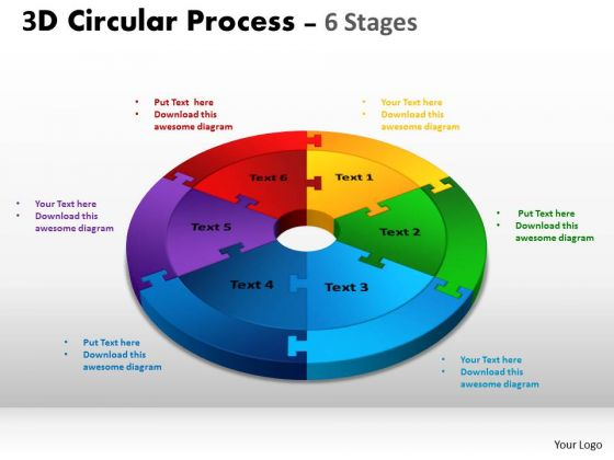 Strategic Management 3d Circular Process Cycle Diagram Ppt Templates Sales Diagram