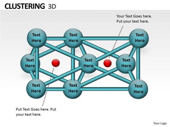 Strategic Management 3d Clustering Ppt Chart Business Diagram