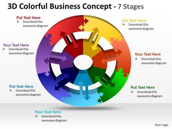 strategic_management_3d_colorful_business_diagram_concept_7_stages_business_diagram_1