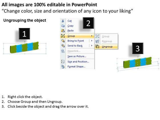 strategic_management_3d_puzzle_linear_flow_process_5_stages_sales_diagram_2