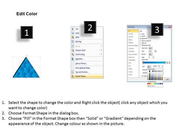 strategic_management_3d_triangle_puzzle_process_10_pieces_business_diagram_3