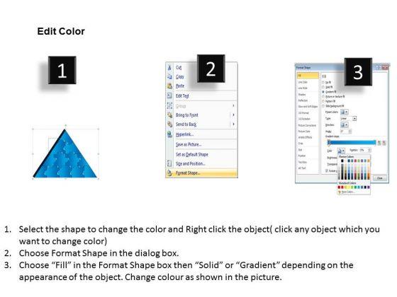 strategic_management_3d_triangle_puzzle_process_12_pieces_business_diagram_3