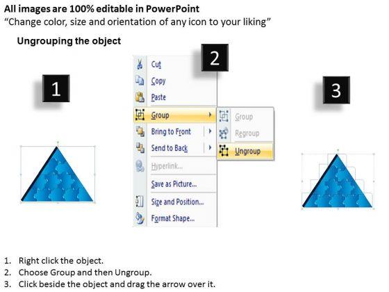 strategic_management_3d_triangle_puzzle_process_12_pieces_marketing_diagram_2