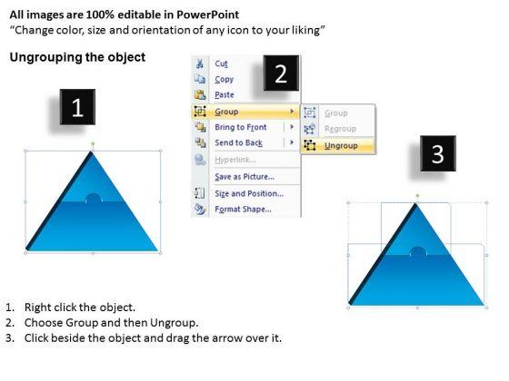 strategic_management_3d_triangle_puzzle_process_2_pieces_marketing_diagram_2