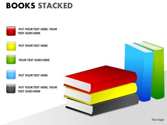 Strategic Management Books Stacked Business Cycle Diagram