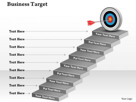 Strategic Management Business Goals And Targets 8 Marketing Diagram