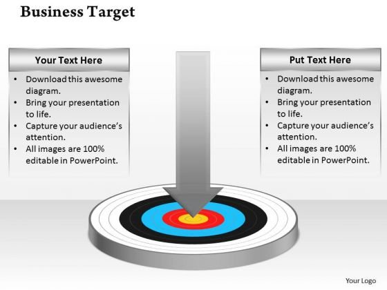 Strategic Management Business Goals And Targets Consulting Diagram