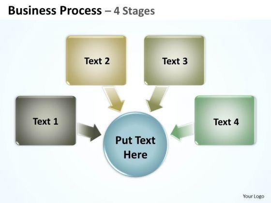 Strategic Management Business Process 4 Stages 1 Business Diagram