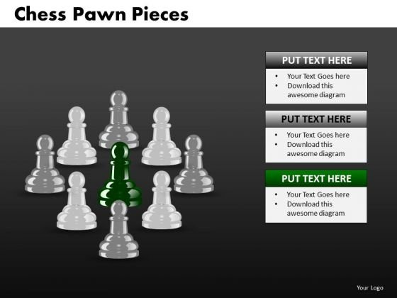 Strategic Management Chess Pawn Pieces Consulting Diagram