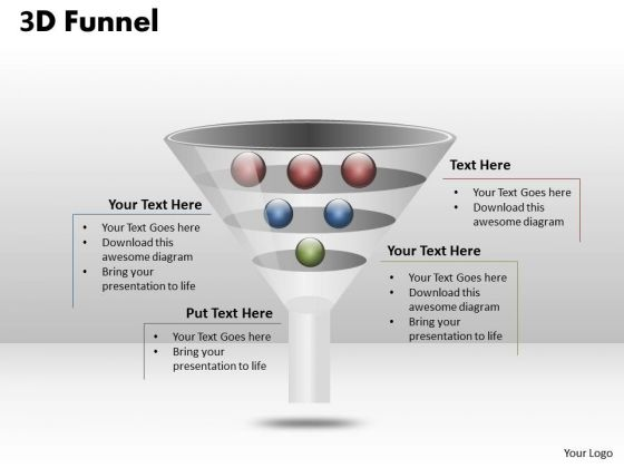 Strategic Management Different Objective Funnel Diagram Consulting Diagram