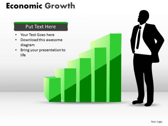 Strategic Management Economic Growth Business Cycle Diagram