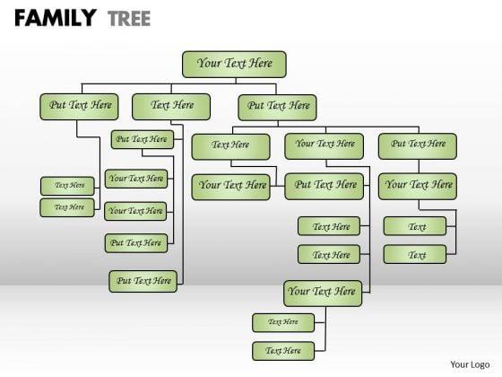 Strategic Management Family Tree Business Framework Model