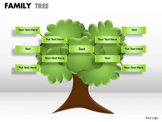 Strategic Management Family Tree Consulting Diagram