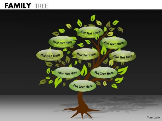 Strategic Management Family Tree Marketing Diagram