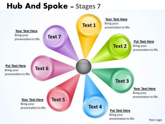 Strategic Management Illustration Of Multicolored Business Diagram