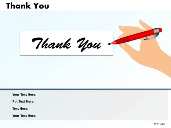 Strategic Management Layout Of Thank You Slide Consulting Diagram