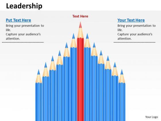 Strategic Management Leader Ship Sales Diagram