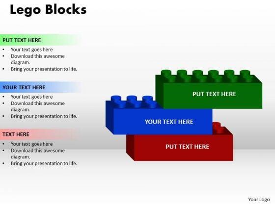 Strategic Management Lego Block 3 Consulting Diagram
