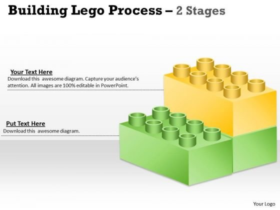 Strategic Management Lego Blocks Diagram Stages Marketing Diagram