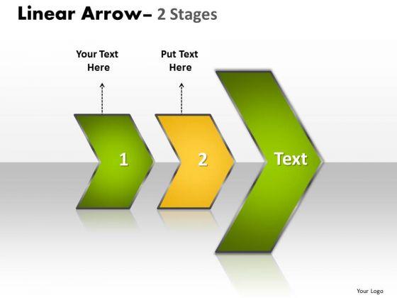 Strategic Management Linear Arrow 2 Stages