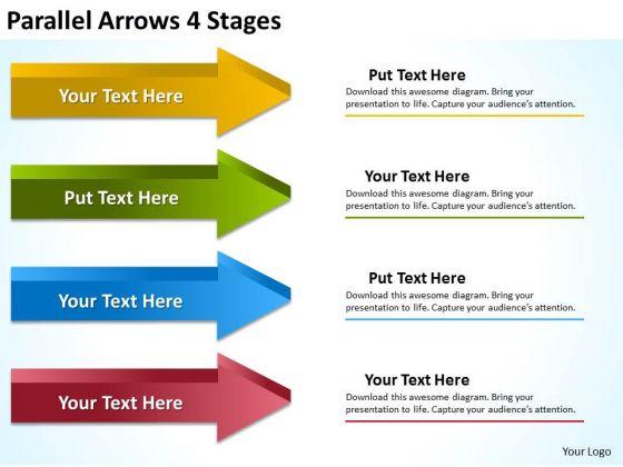 Strategic Management Parallel Arrows 4 Stages Mba Models And Frameworks