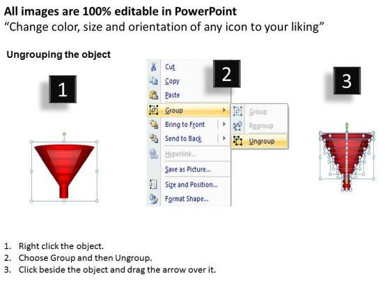 strategic_management_red_colored_sales_marketing_funnel_diagram_business_diagram_2