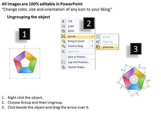 strategic_management_segment_donut_stages_business_diagram_2