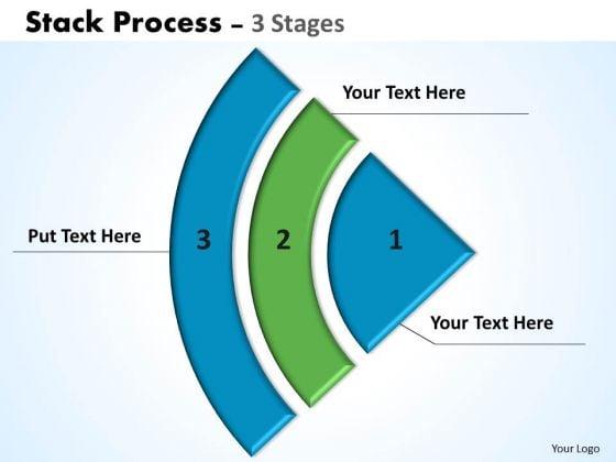 Strategic Management Stack Process Flow Marketing Diagram