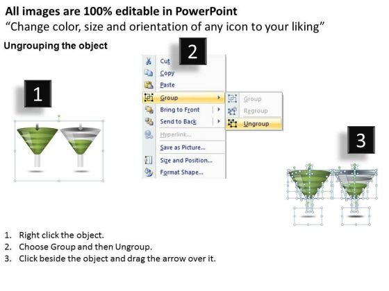 strategy_diagram_2_different_usage_funnel_diagram_consulting_diagram_2