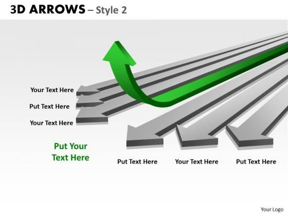 Strategy Diagram 3d Arrows Styli Business Cycle Diagram