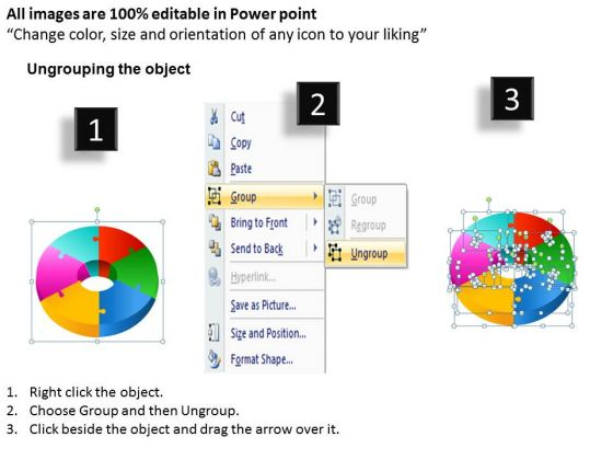 strategy_diagram_3d_circular_puzzle_diagram_6_pieces_ppt_business_framework_model_2