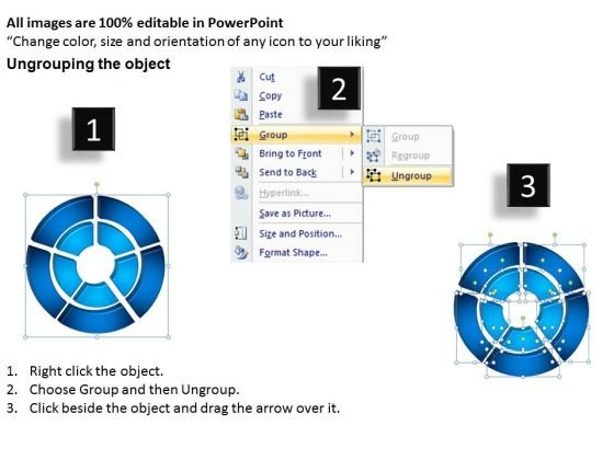 strategy_diagram_3d_double_concentric_rings_pieces_3_sales_diagram_2