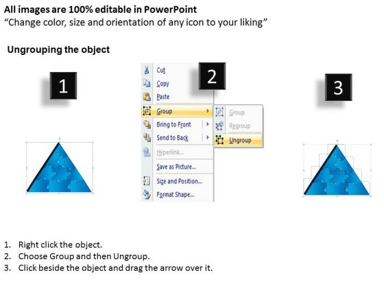 strategy_diagram_3d_triangle_puzzle_process_9_pieces_marketing_diagram_2