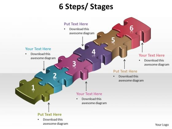 Strategy Diagram 6 Steps Diagrams Marketing Diagram