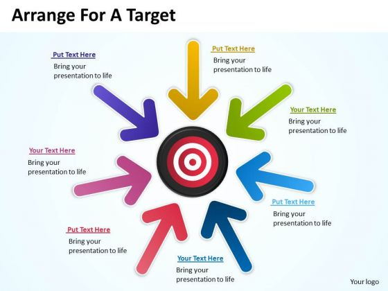 Strategy Diagram Arrange For A Target Business Framework Model